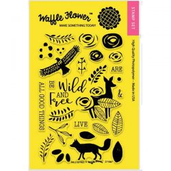Waffle Flower Wild & Free Stamp Set
