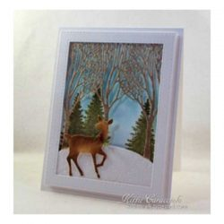 Impression Obsession Three Trees Background Die