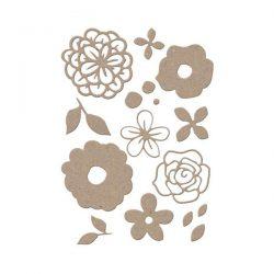 Little B Bouquet Flower Die Set