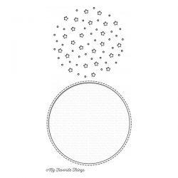 My Favorite Things Starry Circle Die-namics