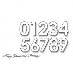 My Favorite Things Pop-Up Numbers Die-namics