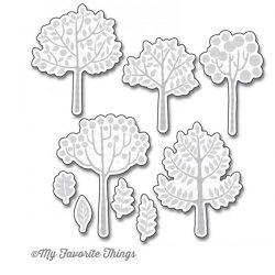 My Favorite Things Modern Trees Die-namics