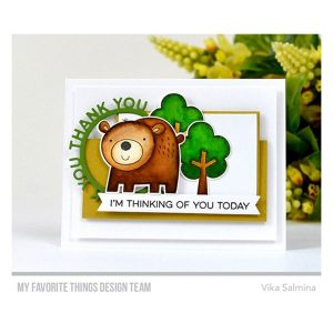 My Favorite Things Die-namics Thank You Circle Frame class=
