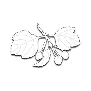 Penny Black Berries and Leaves Die