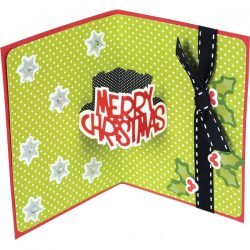 Sizzix Merry Christmas Thinlit