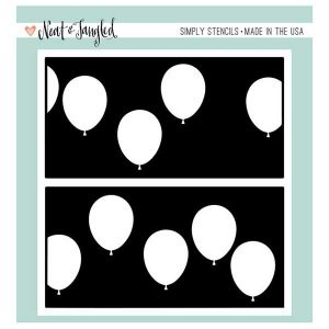 Neat & Tangled Balloon Duo Stencil Set