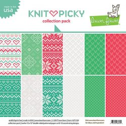 "Lawn Fawn Knit Picky Collection Pack - 12"" x 12"""