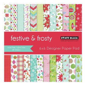 Penny Black Festive & Frosty Paper Pad