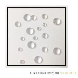 Studio Katia Clear Round Drops - Mix