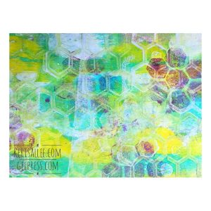 "Gel Press Gel Plate - 6"" x 6"" class="