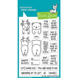 Lawn Fawn For You, Deer Stamp Set