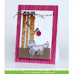 Lawn Fawn Joy to the Woods Stamp Set