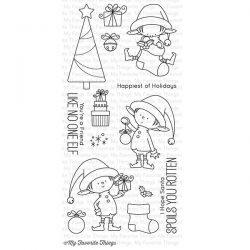My Favorite Things BB Santa's Elves Stamp Set