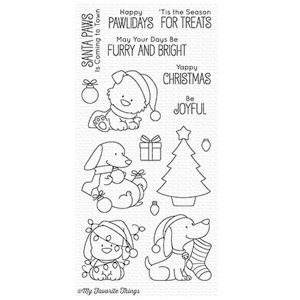 My Favorite Things BB Happy Pawlidays Stamp Set