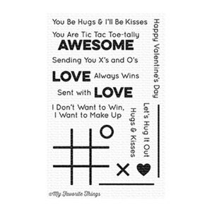 My Favorite Things X's and O's (Tic Tac Toe) Stamp Set
