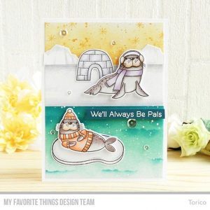 My Favorite Things Polar Pals Stamp Set class=
