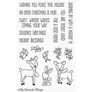 My Favorite Things Dashing Deer Stamp Set