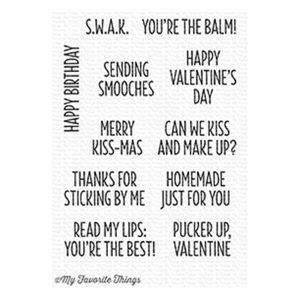 My Favorite Things Sending Smooches Stamp Set