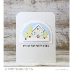 My Favorite Things Snow Globe Sentiments Stamp Set