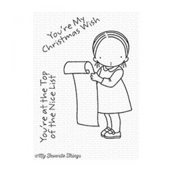 My Favorite Things Pure Innocence Nice List Stamp Set