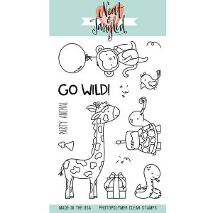 Neat & Tangled Wild Ones Stamp Set