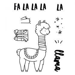 Neat & Tangled Fa La Llama Stamp Set