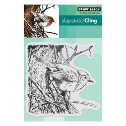 Penny Black Feathers & Twigs Slapstick/Cling Stamp