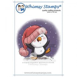Whimsy Stamps Dancing in the Snow Stamp
