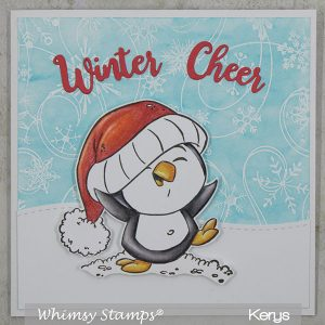 Whimsy Stamps Dancing in the Snow Stamp class=