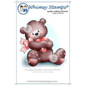 Whimsy Stamps Heart Hugs Stamp