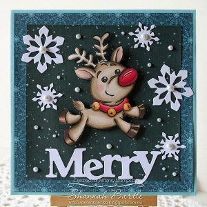 Whimsy Stamps Reindeer Magic Stamp class=