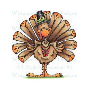 Whipper Snapper Let's Talk Turkey Stamp