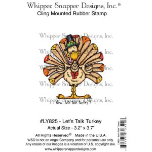 Whipper Snapper Let's Talk Turkey Stamp class=