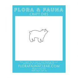 Flora & Fauna Polar Bear Craft Die
