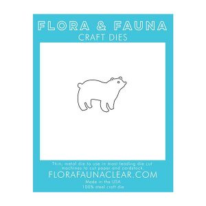 Flora & Fauna Polar Bear Craft Die class=