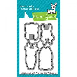 Lawn Fawn For You, Deer Lawn Cuts