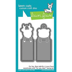 Lawn Fawn For You, Deer Add -On Lawn Cuts