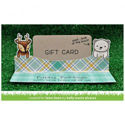 Lawn Fawn Gift Card Pop-Up Lawn Cuts