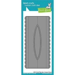 Lawn Fawn Gift Card Pop-Up Lawn Cuts