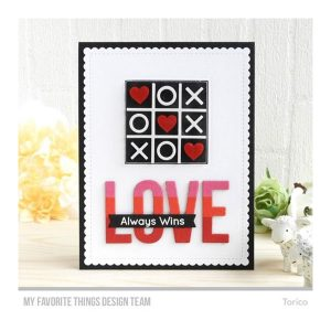 My Favorite Things X's and O's (Tic Tac Toe) Stamp Set class=