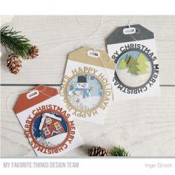 My Favorite Things Die-namics Happy Holidays Circle Frame