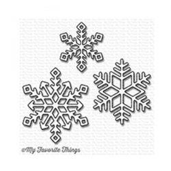 My Favorite Things Die-namics Let It Snowflake Too