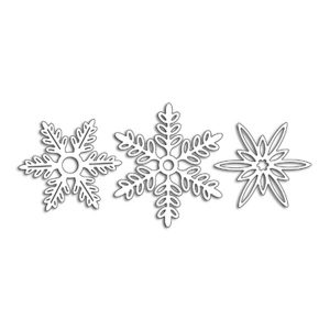 Penny Black Snowflakes Creative Dies class=