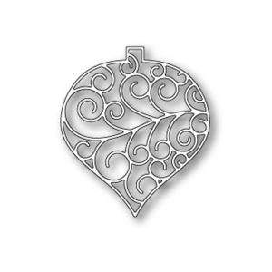 Poppystamps Luxe Ornament Outline Die