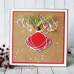 Poppystamps Wirework Ornament Die class=