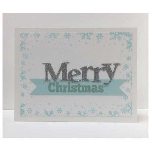 Whimsy Stamps Merry Large Word Die class=