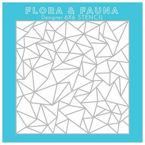 Flora & Fauna Arctic Stencil