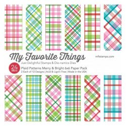 My Favorite Things Plaid Patterns Merry & Bright Paper Pack