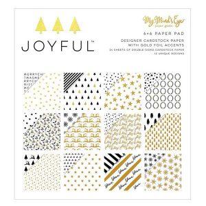 "My Mind's Eye Joyful Paper Pak - 6"" x 6"""