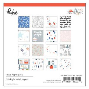 Pinkfresh December Days Paper Pad – 6″x6″